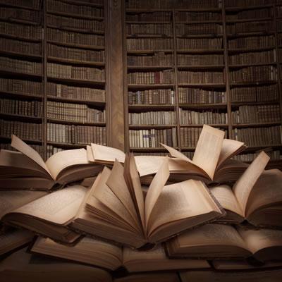 Znalezione obrazy dla zapytania książki biblioteka